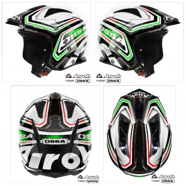 CASCO OSSA BY AIROH NEW 2013